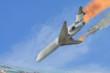 Звук падающего самолета